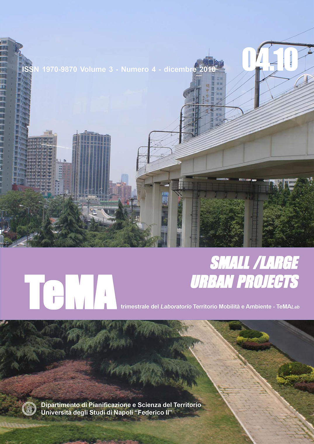 13_Vol 3, N° 4 (2010): Small/Large Urban Projects